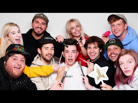 Xxx Mp4 Makeup Relay Race Ft David Dobrik Amp Vlog Squad 3gp Sex