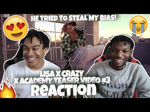 "Xxx Mp4 LISA X CRAZY Quot X ACADEMY TEASER VIDEO 3"" REACTION LISA IS AMAZING 3gp Sex"