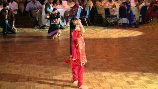A Child's Dance Performance at A Indian Wedding - Indian Wedding Videographer Photographer NYC