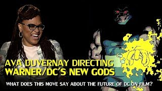 Ava DuVernay directing The New Gods for Warner and DC