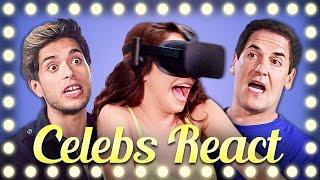 CELEBS REACT TO VR | DON