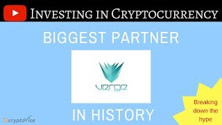 Verge Currency (XVG) Partner Announcement - Will it be a Crypto Dud or Crypto Stud?