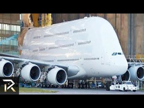 10 Abnormally Large Airplanes That Actually Fly!