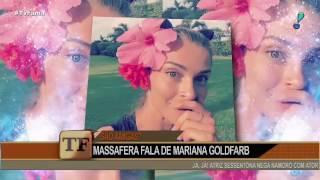 Grazi Massafera conta como é sua relação com Mariana Goldfarb
