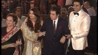 Dilip Kumar and Saira Banu at Amitabh Bachchan