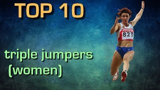 Top 10 best female triple jumpers of all time