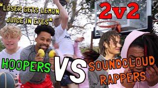 Hoopers VS SoundCloud Rappers! 2v2