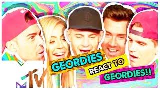 GEORDIE SHORE BBB | GEORDIES REACT TO LIFE'S A BEACH MONTAGE!! | MTV