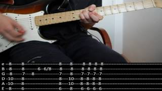 RHCP - The Longest Wave (lesson w/ tabs)