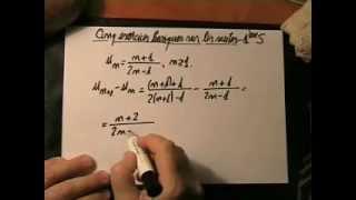 11. Cinq exercices basiques sur les suites en 1ère S