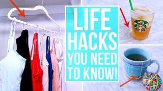 22 Life Hacks Everyone Should Know!