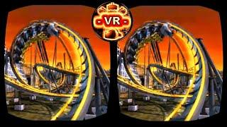 Amazing VR Video 3D Roller Coaster VR 3D SBS 4K for VR BOX ☠😈☠