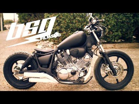 1985 XV1100 Yamaha Virago Bobber Build