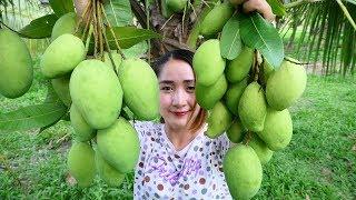 Yummy Crunchy Green Mango Pickle - Cooking Skill