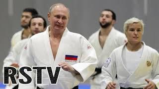 Putin Lesionado tras un Combate de Judo.