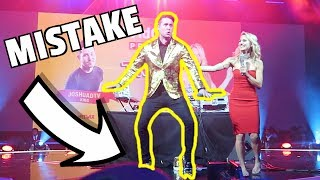 Dancing in heels in front of thousands of people at VidCon.