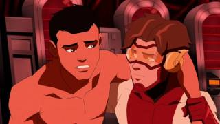 Young Justice Season 2 |Blue Bettle & Impulse |All Moments