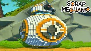 9 CONSTRUCTIONS MODDÉS LES PLUS INCROYABLES !   Scrap Mechanic !