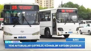 Yeni avtobuslar gəldi - ARB TV