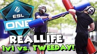 REALLIFE 1v1 gegen Tweeday! :D - ESL One Cologne 2017 mit TrilluXe