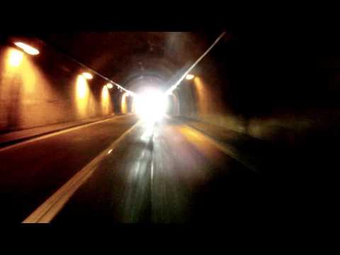 Sustenpass Tunnel sound - Kawasaki Ninja 250R with IXIL Exhaust - GoPro HD