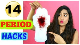 14 Period Hacks Every Girl Must Know! ShrutiArjunAnand