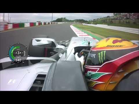 Lewis Hamilton Smashes Suzuka Track Record   2017 Japanese Grand Prix