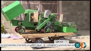 Iran Creative villager makes Farm toys, Mahabad county كشاورز سازنده اسباب بازي مهاباد ايران