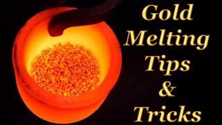 🔥GOLD MELTING, How to melting gold and make gold ingot bar.How to melt gold. tutorial