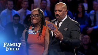 Ouch! BRUTAL Fast Money... | Family Feud