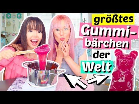 Xxx Mp4 2 Verrckte Machen Das Grte Gummibrchen Der Welt XL DIY ViktoriaSarina 3gp Sex