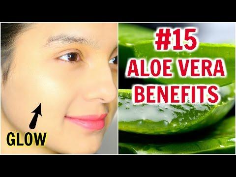 #15 Skincare Benefits & Uses Of ALOE VERA   PrettyPriyaTV