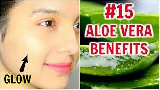 #15 Skincare Benefits & Uses Of ALOE VERA | PrettyPriyaTV