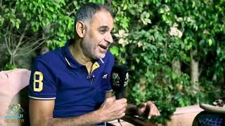 محمود البزاوي  يحكي كواليس بين  تامر حسني واكرم حسني في البدلة | الراديو بيضحك مع فاطمة مصطفي