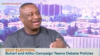 2019 Elections  Buhari and Atiku Campaign Teams Debate Policies prt1