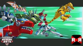 Transformers Rescue Bots: Disaster Dash - Hero Run - All Bots Unlocked - Gameplay Part 1