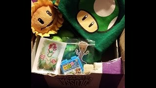 Asmr Unboxing from Colossalcrate  geek, gamer and pop culture items