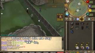 Runescape Anti-Lure with Skype Reaction (HALARIOUS) | Kid cries over a ZGS | Zoebz