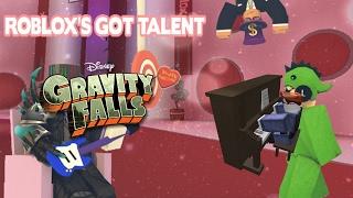 Gravity falls theme on the piano - Roblox