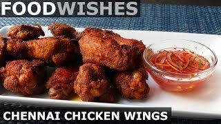 Chennai Chicken Wings - Food Wishes - Indian-Spiced Hot Wings