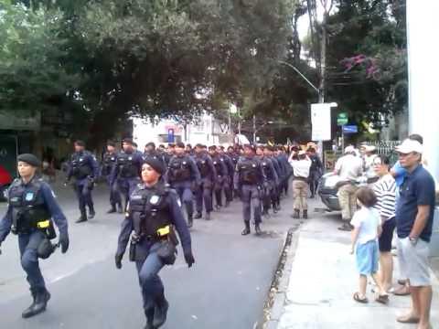 Guarda Municipal de Salvador 7 de Setembro 2014