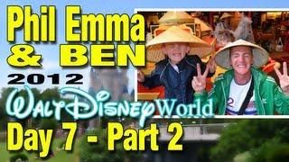 Walt Disney World 2012 - Day 7 - (2 of 2) - Epcot