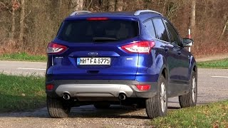 2015 Ford Kuga / Escape 1.5 Ecoboost 4x4 (182 HP) Test Drive