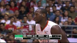 PBA Governors' Cup 2017 Highlights: Ginebra vs Meralco Finals Game 7