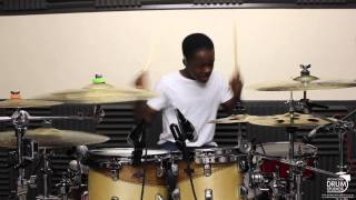 Morgan Simpson | Don't Think They Know - Chris Brown feat. Aaliyah | Drum Cover