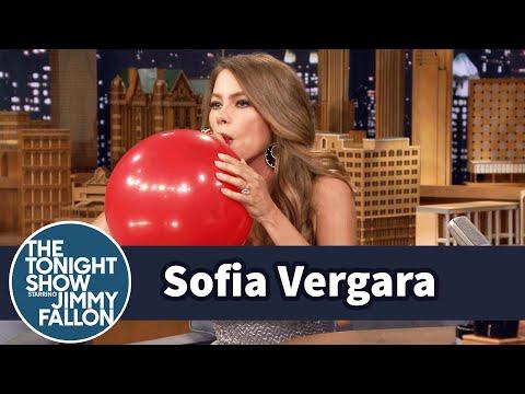 Xxx Mp4 Sofia Vergara Chats With Jimmy While Sucking Helium 3gp Sex
