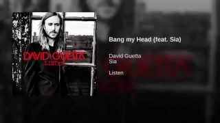 Bang My Head - David Guetta Ft Sia (Audio)