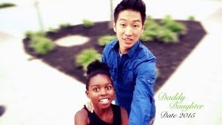 DADDY DAUGHTER DATE & POLICE SHOW UP?!  | AMBW VLOG