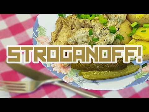 STROGANOFF for one Cooking with Boris