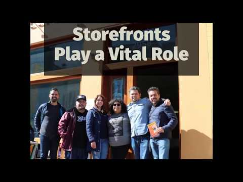 Xxx Mp4 Storefronts Play A Vital Role Accion Latina S Storefront Renovation 3gp Sex